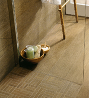 Victor™ - travertine border (Classic Light, Noche).